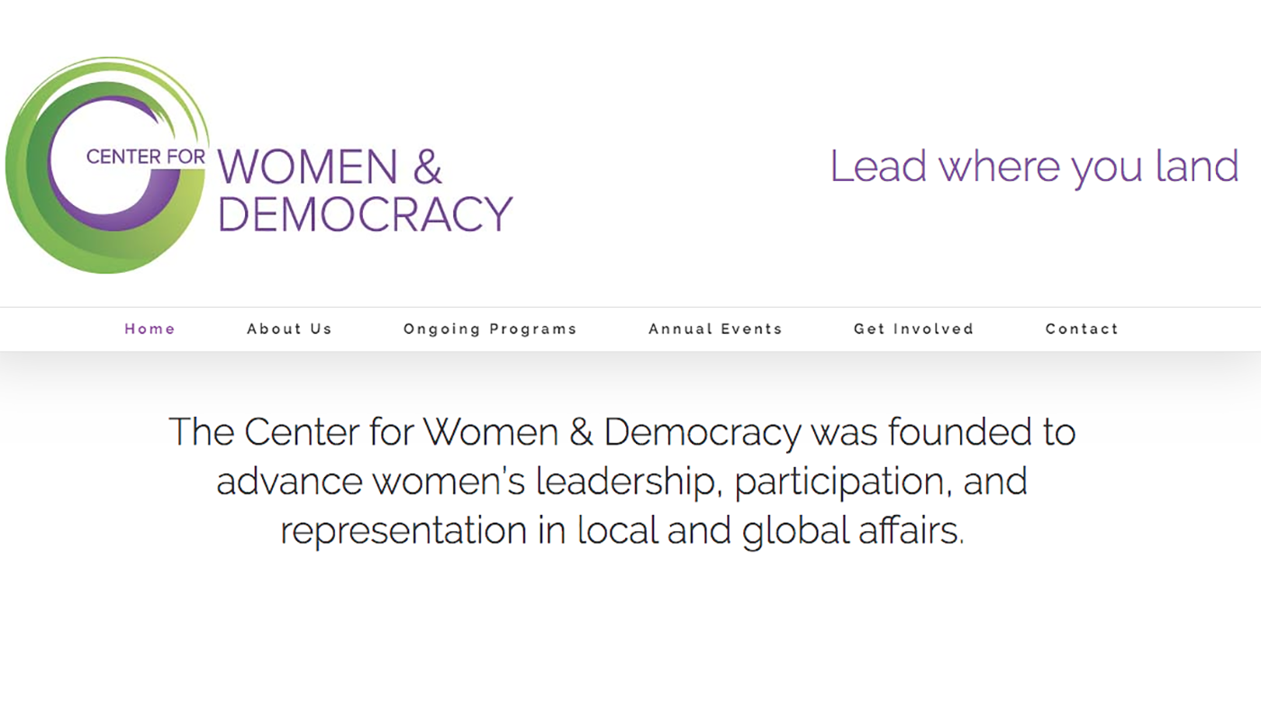 Center for Women Democracy