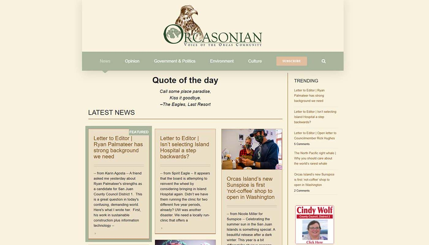 the orcasonian